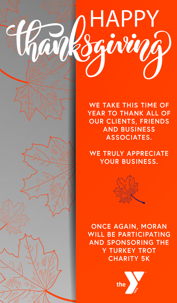moran happy thanksgiving newsletter